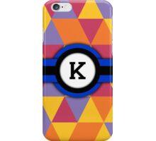 Monogram K iPhone Case/Skin