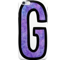 Letter G iPhone Case/Skin