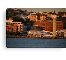 NEWCASTLE NSW - HARBOUR FORESHORE Canvas Print