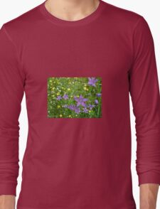 Wildflower Garden Long Sleeve T-Shirt
