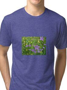 Wildflower Garden Tri-blend T-Shirt