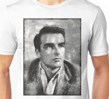 Montgomery Clift Vintage Hollywood Actor Unisex T-Shirt