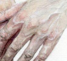 Watercolour Hands Sticker