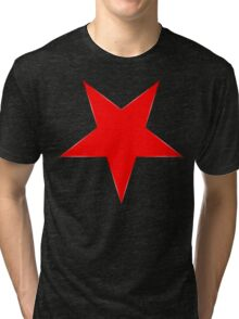 Inverted Red Star Tri-blend T-Shirt