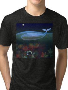 underwater bedroom Tri-blend T-Shirt