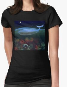 underwater bedroom Womens Fitted T-Shirt