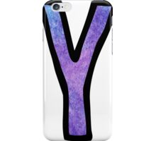 Letter Y iPhone Case/Skin