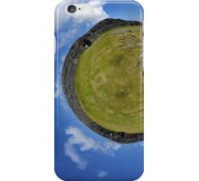 Fortified Ball - Inside Dun Aengus stone fort iPhone Case/Skin