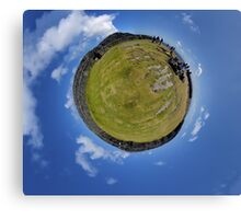 Fortified Ball - Inside Dun Aengus stone fort Canvas Print