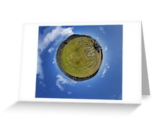 Fortified Ball - Inside Dun Aengus stone fort Greeting Card