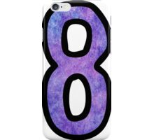 Number 8 iPhone Case/Skin