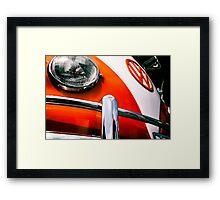 Volkswagen Bus Framed Print