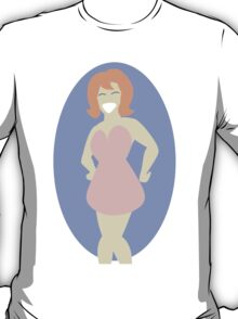 vector lady T-Shirt