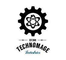 Technomage Industries Steampunk Logo by aromis