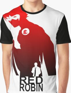 red robin silhuete Graphic T-Shirt