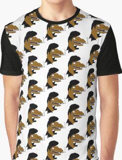 Velociraptor: GREASER RAPTOR Graphic T-Shirt