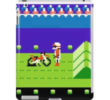 8 Bit Punchured Bike iPad Case/Skin
