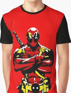 Dead-Pool Graphic T-Shirt