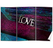 Love Textures Poster