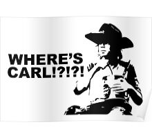Where's Carl? Poster