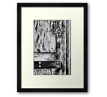 The White Door Framed Print