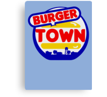 Burger Town (MW2/MW3) Canvas Print