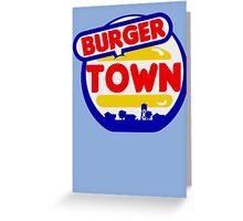 Burger Town (MW2/MW3) Greeting Card