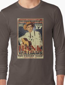 Hank Williams Long Sleeve T-Shirt