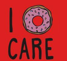 I Donut Care Kids Tee