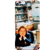 DANA SCULLY x files iPhone Case/Skin
