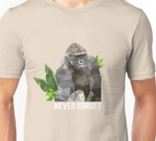 Remembering Harambe  Unisex T-Shirt