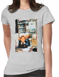 DANA SCULLY x files Womens Fitted T-Shirt