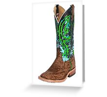 This Boot Was Made For Walkin' Greeting Card