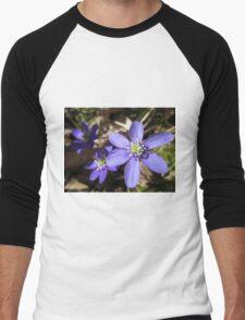 Wild and Blue Men's Baseball ¾ T-Shirt
