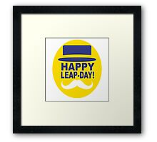 HAPPY LEAP-DAY! Framed Print