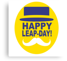 HAPPY LEAP-DAY! Canvas Print