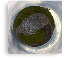Dun Eochla, Inishmore, Aran Islands Canvas Print