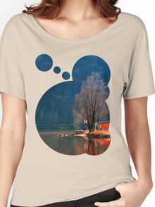 Gone fishing | waterscape photography Women's Relaxed Fit T-Shirt