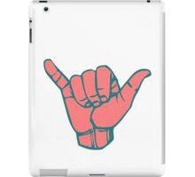 Hang Loose Hand iPad Case/Skin