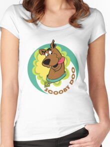 Scooby Doo - Cartoon Women's Fitted Scoop T-Shirt