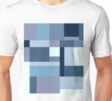 Abstract #387 Blue Harmony Unisex T-Shirt
