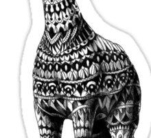 Ornate Giraffe Sticker