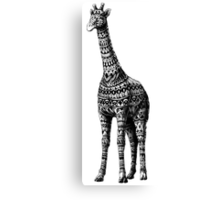 Ornate Giraffe Canvas Print
