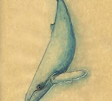 Humpback Whale of the Deep by inkmaid