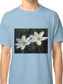 White Wood Anemones Classic T-Shirt