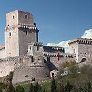 Rocca Maggiore by phil decocco