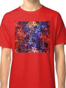 Colorful Vintage Flower Pattern Classic T-Shirt