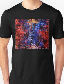 Colorful Vintage Flower Pattern T-Shirt
