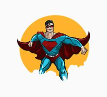 Standing Superhero Illustration Unisex T-Shirt