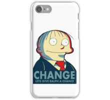 Ralph Wiggum for President 2016 iPhone Case/Skin